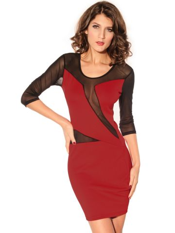 https://static3.cilory.com/101966-thickbox_default/decolletage-dress-with-mesh-red.jpg