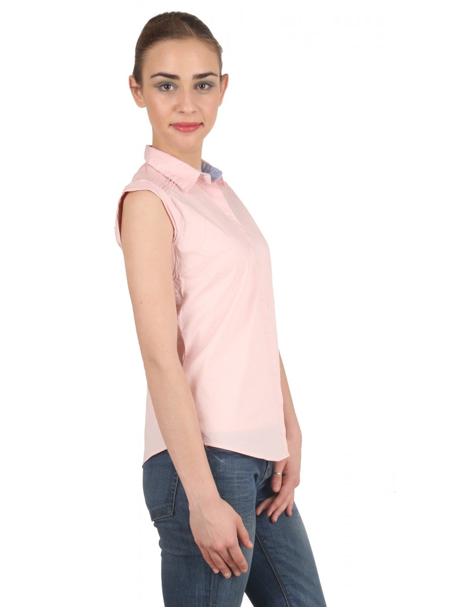 Pepe Jeans Pink Top | Brennda Ss-pink | Cilory.com