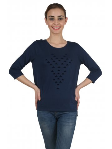 Levis Navy Blue Top at cilory