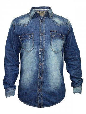 https://static2.cilory.com/137191-thickbox_default/spykar-blue-casual-shirt.jpg