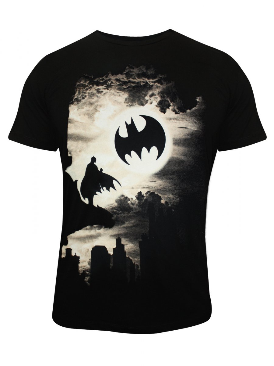 buy t shirts online batman black round neck t shirt. Black Bedroom Furniture Sets. Home Design Ideas