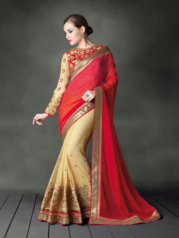 https://static9.cilory.com/147109-thickbox_default/jiyara-light-brown-red-party-wear-saree.jpg