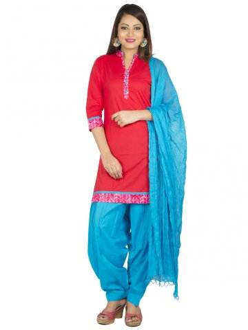 https://static7.cilory.com/152218-thickbox_default/jk-pure-cotton-complete-set-of-red-kurta-and-light-blue-patiala-duptta.jpg