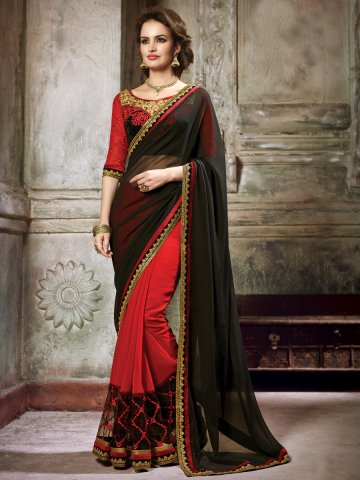 https://static7.cilory.com/153101-thickbox_default/maisha-red-black-heavy-saree-with-stone-work-on-blouse.jpg