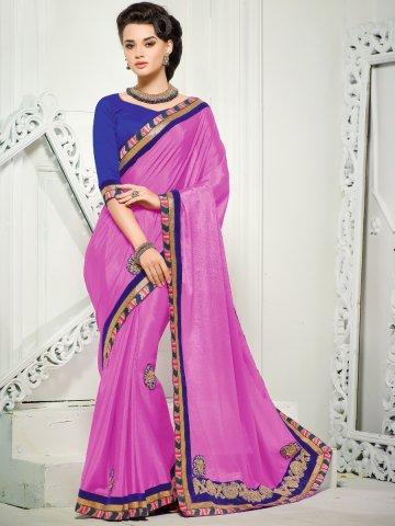 https://static7.cilory.com/159241-thickbox_default/selfie-pink-designer-saree.jpg