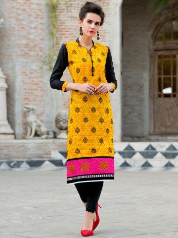 https://static1.cilory.com/193699-thickbox_default/ibis-yellow-black-cotton-printed-kurti.jpg