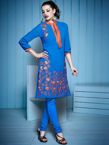 https://static2.cilory.com/199520-thickbox_default/cockqtail-blue-embroidered-kurti.jpg