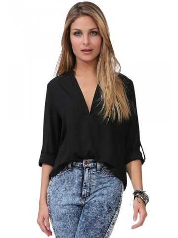 https://static7.cilory.com/207293-thickbox_default/black-v-neck-loose-fitting-blouse.jpg