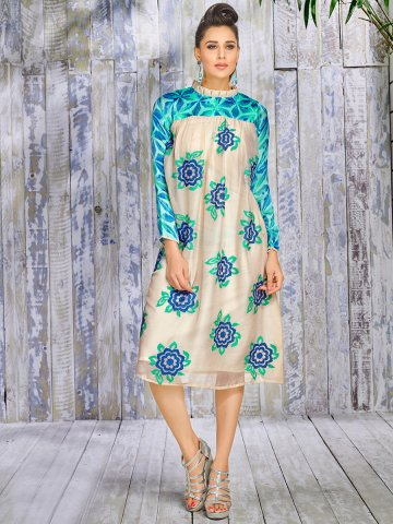 https://d38jde2cfwaolo.cloudfront.net/209890-thickbox_default/plush-beige-blue-designer-kurti.jpg