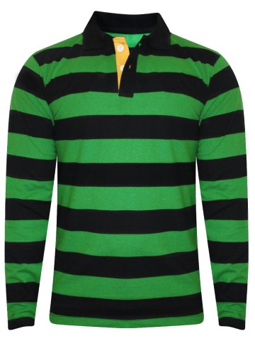 786a1e2c64 >NoLogo Green & Black Polo Stripes T-Shirt.  https://d38jde2cfwaolo.cloudfront.net/235800-thickbox_default/nologo-