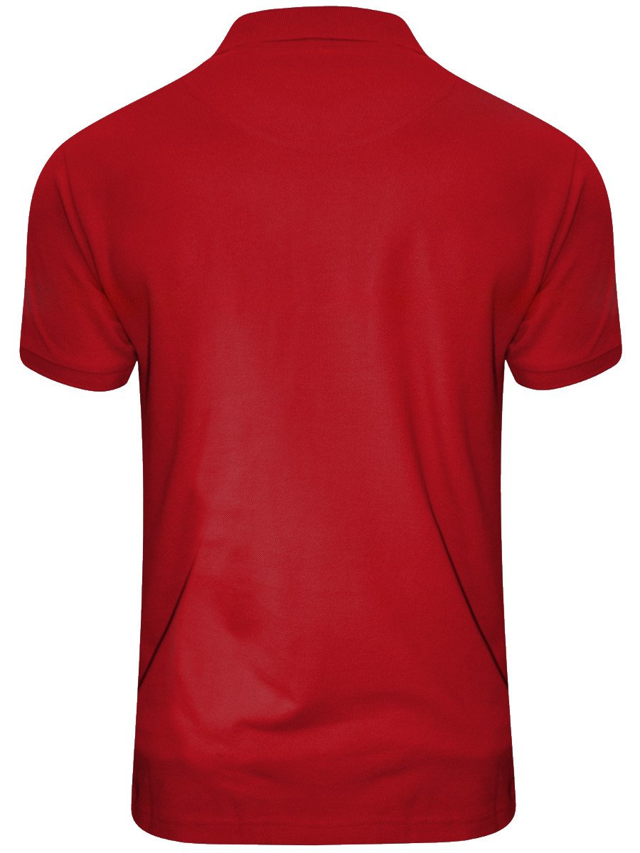 Buy T Shirts Online Crocodile Red Polo T Shirt