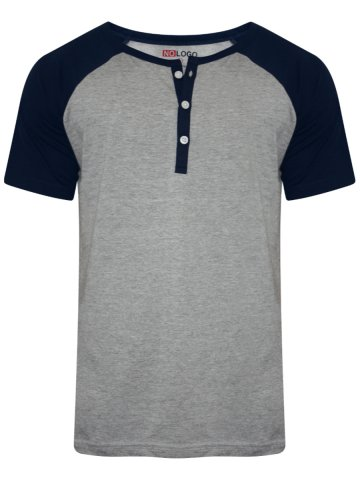 https://static2.cilory.com/265721-thickbox_default/nologo-grey-melange-navy-henley-t-shirt.jpg