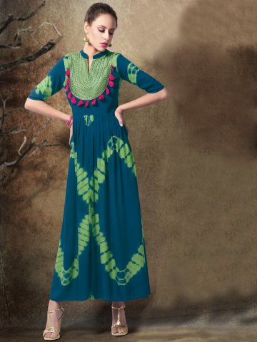 https://static5.cilory.com/268389-thickbox_default/shibori-octane-blue-green-cotton-kurti.jpg
