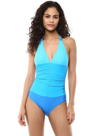 9466b101a92e4  Pretty Secrets Blue Plunge Halter Neck Swimsuit.  https   static.cilory.com 271162-thickbox default pretty-