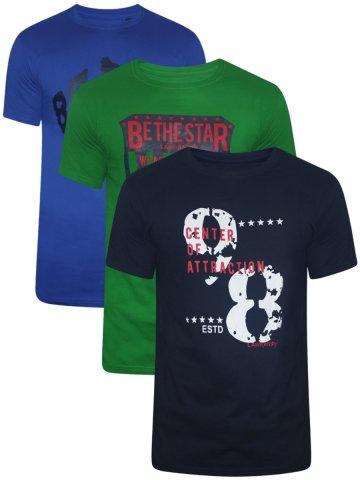 Lawman Pg3 Round Neck Tshirt  Pack of 3