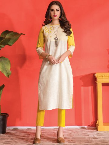 https://static8.cilory.com/339191-thickbox_default/kantha-butter-yellow-cotton-embroidered-kurti.jpg