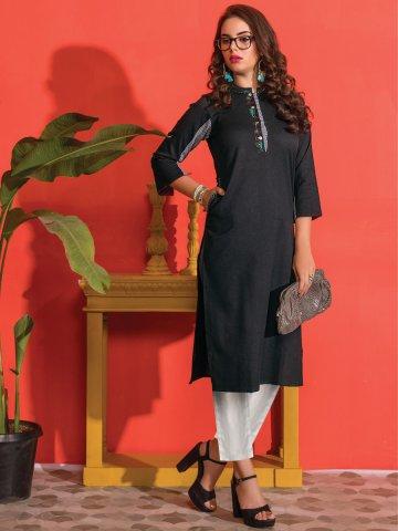 https://d38jde2cfwaolo.cloudfront.net/339197-thickbox_default/kantha-black-cotton-embroidered-kurti-with-pocket.jpg