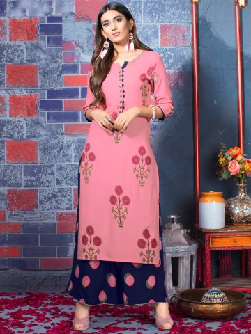 https://static.cilory.com/369351-thickbox_default/fashion-peach-kurti-with-navy-blue-palazzo.jpg