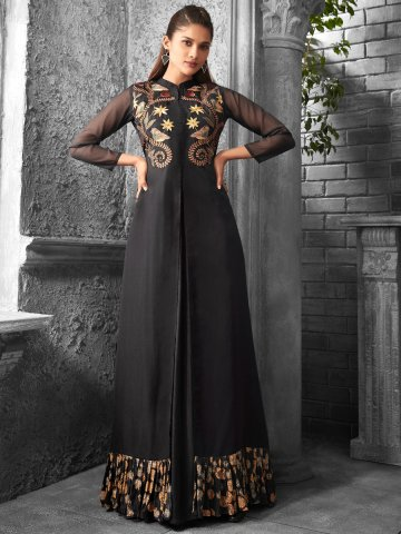 https://static8.cilory.com/371687-thickbox_default/radiant-black-double-layered-embroidered-kurti.jpg