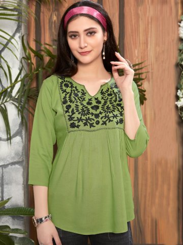 https://static2.cilory.com/402665-thickbox_default/green-rayon-embroidered-top.jpg
