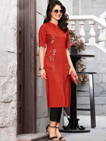 https://static6.cilory.com/403319-thickbox_default/100-miles-front-slit-embroidered-kurta.jpg
