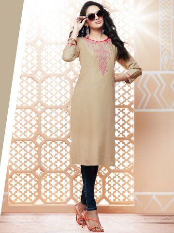 https://static.cilory.com/407934-thickbox_default/kajree-beige-rayon-embroidered-kurti.jpg