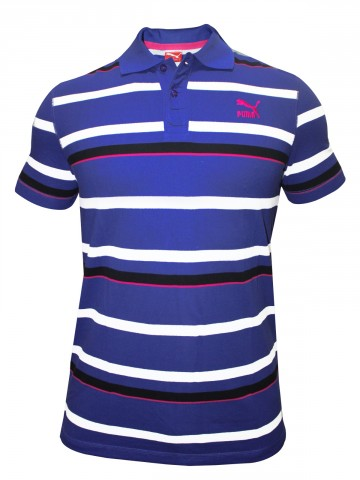 Puma Light Puple Polo T-Shirt at cilory
