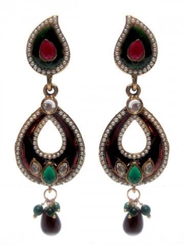 https://static2.cilory.com/75977-thickbox_default/elegant-meenakari-work-earring-carved-with-stone-and-beads.jpg