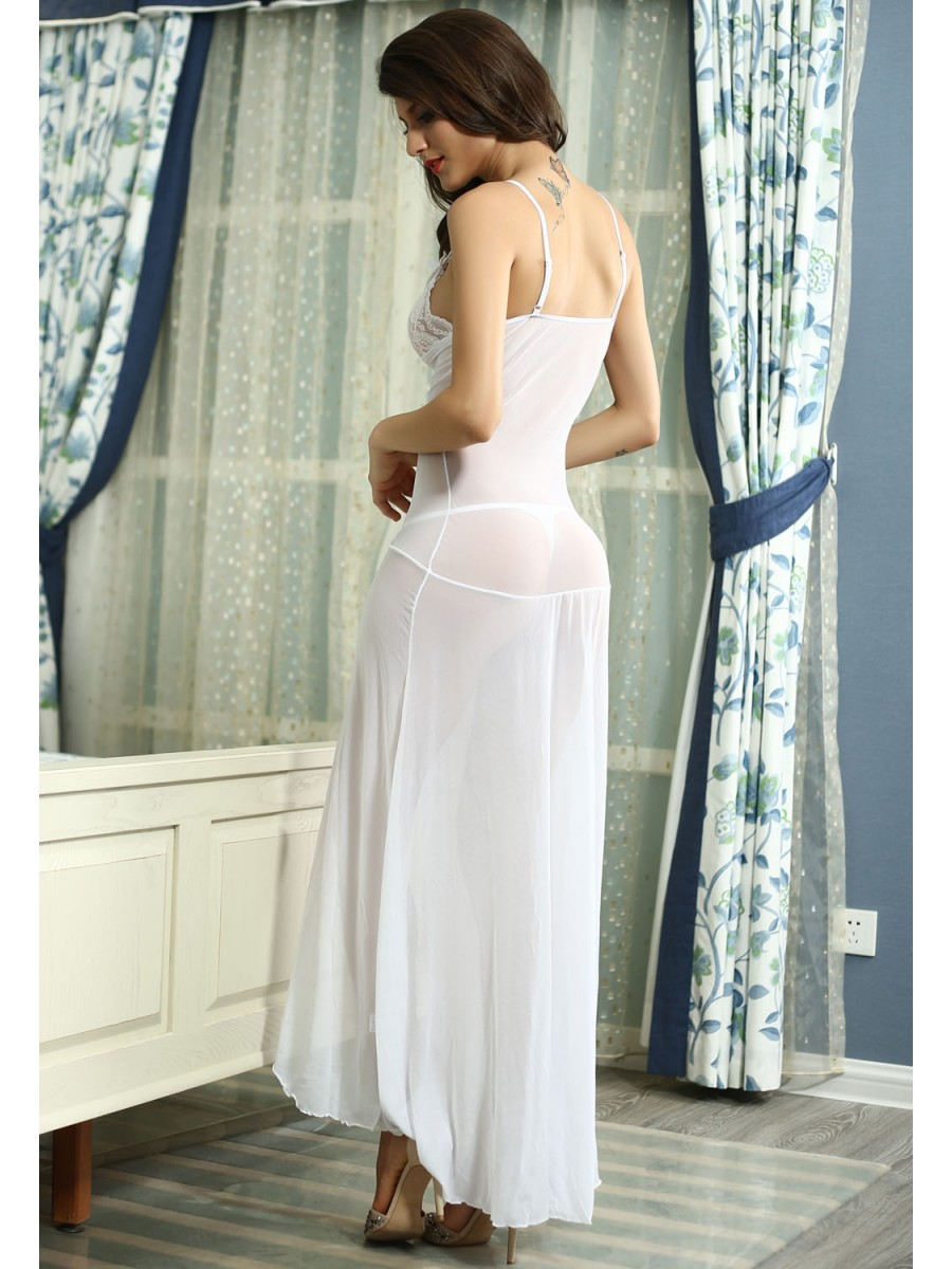 Buy Nightwear Online | Bride To Be Sleepwear Gown | E6143-1 | Cilory.com
