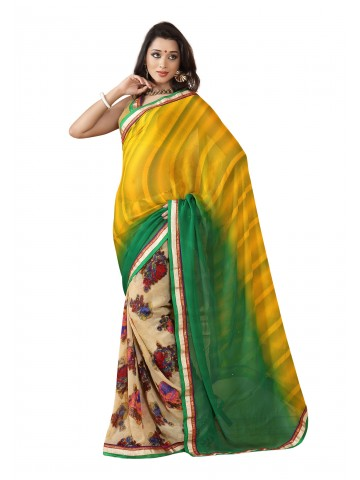 https://static7.cilory.com/87142-thickbox_default/fabdeal-georgette-printed-yellow-green-saree.jpg