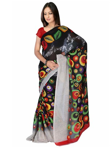 https://static8.cilory.com/89877-thickbox_default/jaipur-kurti-s-melodic-black-faux-georgette-saree-paired-with-blouse.jpg